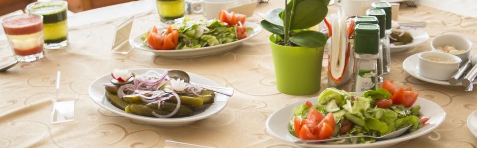 posiłki na diecie warzywno-owocowej